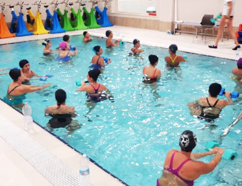 Oasi Sport Village - Fitness in piscina a Terracina