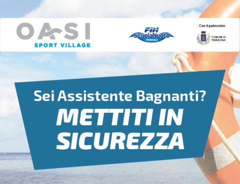Oasi Sport Village - Corso assistenti bagnanti